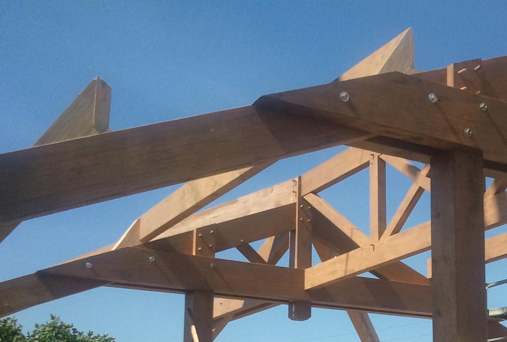 Conception maisons bois bayonne hossegor biarritz pau for Bureau 64 pau